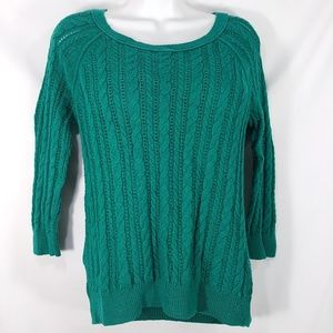 AEO American Eagle Outfitters Cable Knit Sweater